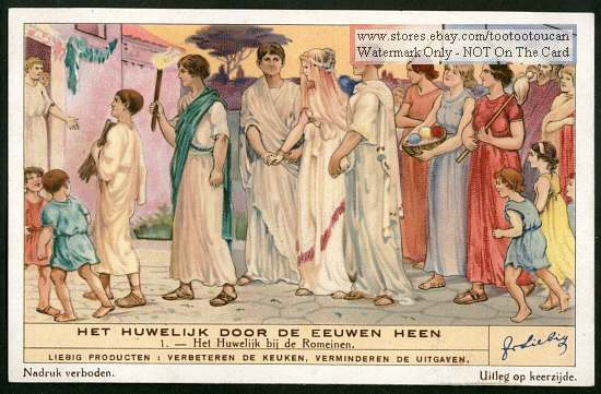 An Ancient Roman Wedding Ceremony S Card